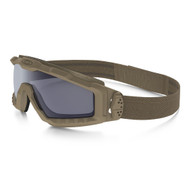 Oakley SI Ballistic HALO Goggle Terrain Tan w/Grey Lens