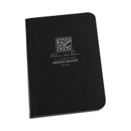 "RITR Tactical Field Flex Memo Book 3.5"" x 5"" Black"