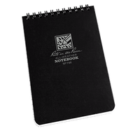 "RITR Tactical Notebook 4"" x 6"" Black"