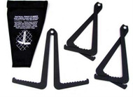 Zak Tool Tactical Fence Climbers 3-pack