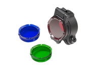"Surefire Filter Kit for 1.125 or 1"" Bezels Red, Blue & Green"