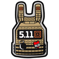5.11 Plate Carrier Patch Coyote 81238-120
