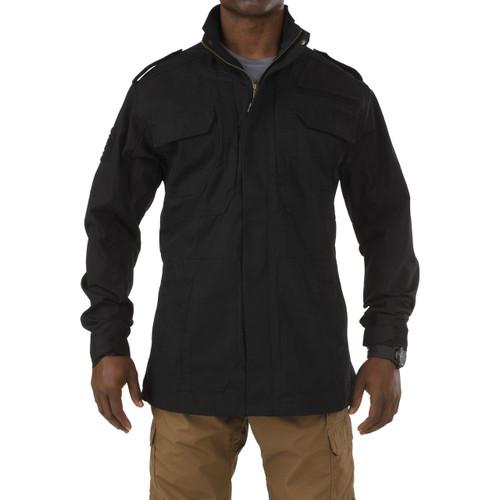 5.11 Taclite M-65 Jacket 78007 black - front