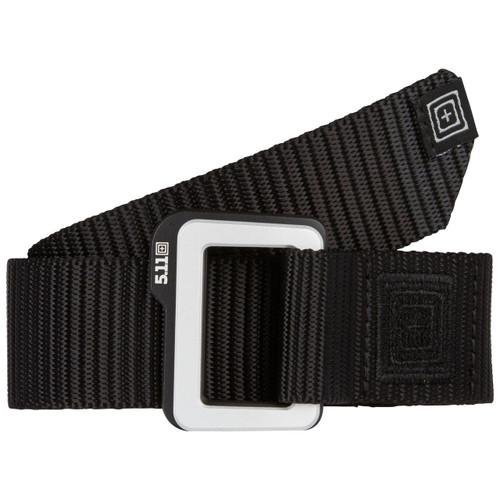 5.11 Traverse Double Buckle Belt - 59510 - black front