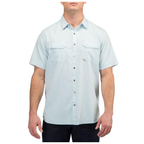5.11 Herringbone Shirt 71375 - front - breeze