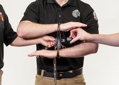 ASP Chain Transport Kit, incls waist chain & rigid Ultra Cuffs (ASP-56176)
