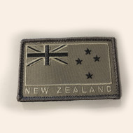 New Zealand Flag Patch Storm Velcro Back