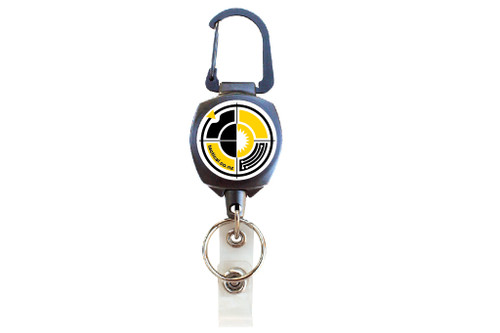 Key-Bak Sidekick 2in1 ID & Key (5) Retractor - TS Badge