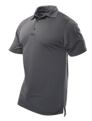 Men's S/S Performance Polo, Charcoal Grey (TSP-4488)