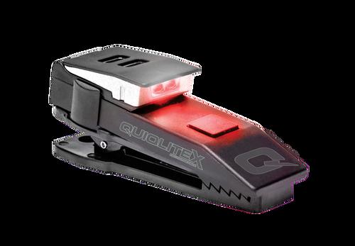 QuiqLite X USB Rechargeable Plastic Housing 20-150 Lumens Red/White Litd (QL-QXRW-2-RED)