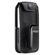 """Motorola Soft Leather Carry Case W/QD 1.5"""" SWL CLIP (for SL4010 series) (MTS-PMLN7040A)"""