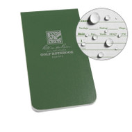 "RITR Golf Notebook 3 1/2"" x 6"" (RITR-4)"