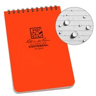 "RITR Blaze Orange Pocket Top-Spiral 4"" x 6"" Notebook (RITR-OR46)"