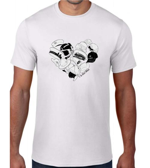Te Kiwi Maia Male S/S Shirt White (TKM-001-010)