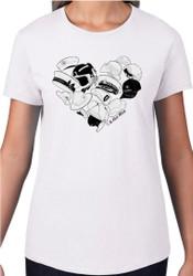 Te Kiwi Maia Female S/S Shirt White (TKM-003-010)