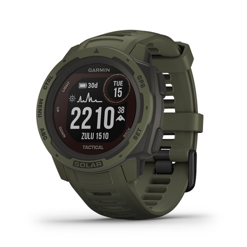 Garmin Instinct Solar Tactical, Moss (GAR-010-02293-14)