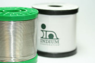 Indium,  52409 Lead Free Wire Solder, .032 dia, Water Wash, 1 lb.