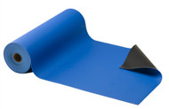 "Royal Blue 30"" x 50' ACL Staticide, Gemini Dual-layer Static Dissipative Material"