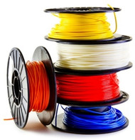 MG Chemicals, ABS17RE25, ABS, 1.75 mm, 0.25 KG SPOOL - PREMIUM 3D FILAMENT- RED
