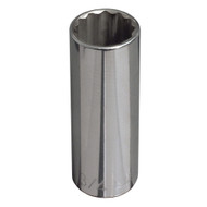 1/2-Inch Drive  3/4'' Deep 12-Point Socket