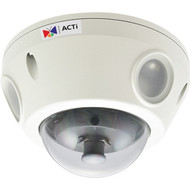 E88 1.3 MP Outdoor IP Dome Camera with Day/Night, Adaptive IR, Basic WDR, SLLS, & 2.8 to 12mm Lens
