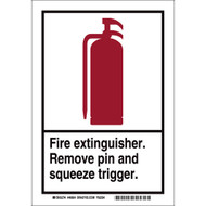 46604 FIRE EXTINGUISHER SIGN