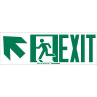 114661 BradyGlo™ Egress Sign