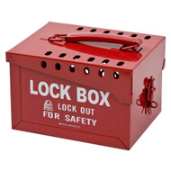 51171 Extra-Large Metal Lock Box
