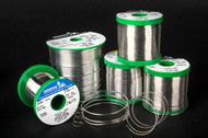 "51075-2268  INDIUM SOLID WIRE SOLDER 63/37 .093""DIAMETER - 5LB SPOOL"