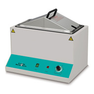 Globe Scientifc  510 Mini Water Bath, 6 Liter, with Stainless Steel Cover & Thermometer Clip, 115V
