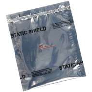 STATIC SHIELD BAG, 81705 SERIES METAL-IN, ZIP, 12x12, 100 EA