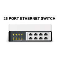 ETHERNET SWITCH, 26 PORT