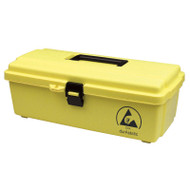 TOOL BOX, DISSIPATIVE, YELLOW DURASTATIC