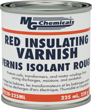 RED GLPT INSULATING VARNISH, CLASS H THERMAL PROTECTION