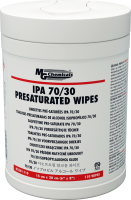 8241-110 - IPA 70/30 Presaturated Wipes