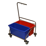 Mop Cart with Buckets