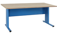 Eisenhower Series Office Grade - Particle Board Top - std. blue