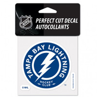"""Tampa Bay Lightning Perfect 4x4"""" Cut Shoulder Patch Decal"""