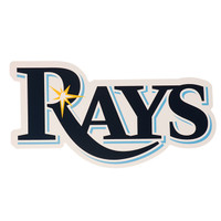 "Tampa Bay Rays 8x8"" Die Cut Decal"