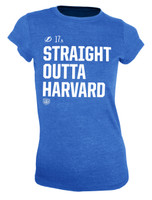 Women's Tampa Bay Lightning Straight Outta Harvard Social Inspired T-Shirt