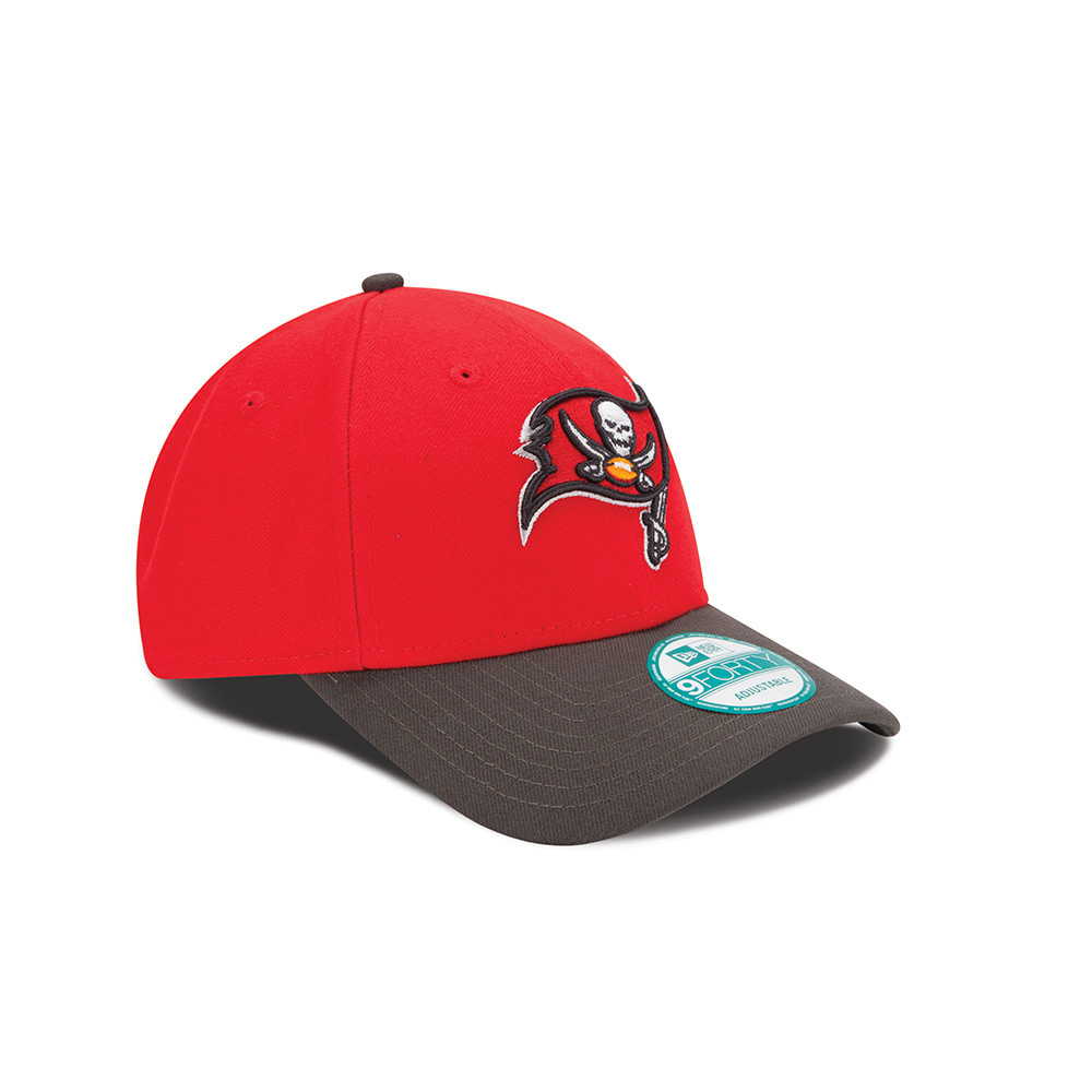 700897fa62e8c5 ... Youth Tampa Bay Buccaneers New Era Red League 9FORTY Adjustable Hat.  Image 1