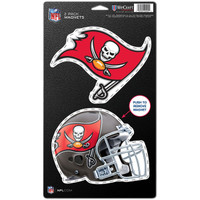 "Tampa Bay Buccaneers WinCraft  5x9"" 2-Pack Magnet Set"