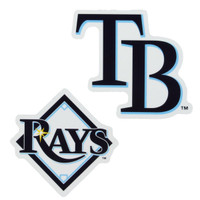 """Tampa Bay Rays WinCraft 5x9"""" 2-Pack Magnet Set"""