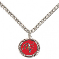 Tampa Bay Buccaneers Wincraft Necklace W/ Charm
