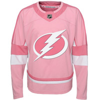 Tampa Bay Lightning Infant Pink Fashion Jersey