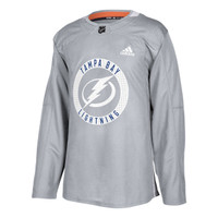 ADIZERO Authentic Tampa Bay Lightning GREY Practice Jersey