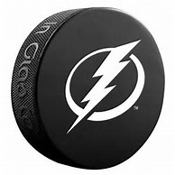 Tampa Bay Lightning Logo Puck