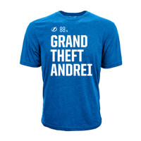 Tampa Bay Lightning Grand Theft Andrei Social Media Inspired Tee