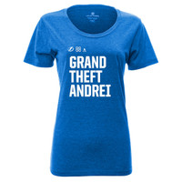 Tampa Bay Lightning Women's Grand Theft Andrei Social Media Inspired Tee