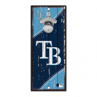 Tampa Bay Rays WinCraft Wood Sign Bottle Opener